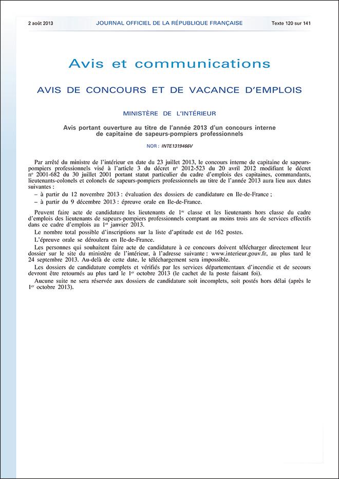 ConcoursCapitaine2013