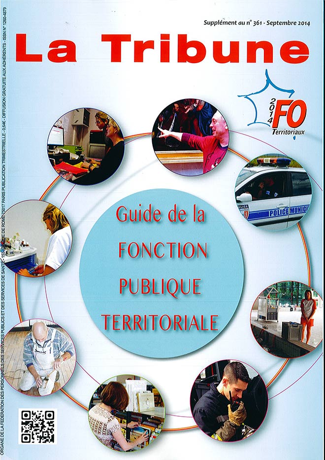la Tribune, couverture septembre 2014