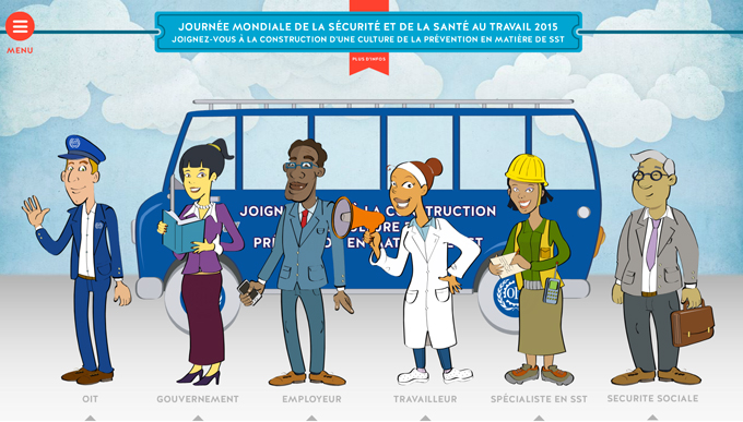 Journée mondiale de la Santé et de la Sécurité au Travail