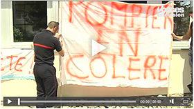 Les SPP des Vosges en grève