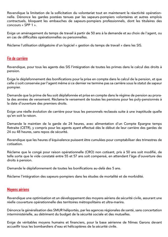Résolution du 21ème congrès du SNSPP-PATS-FO