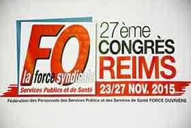 Congrès de la fédération FO Services Publics et Santé