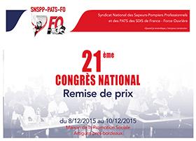 Remise de prix 21ème congrès du SNSPP-PATS-FO