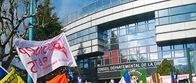 Manifestation dans là Drôme (26)