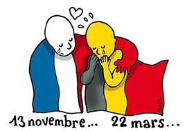 Message de soutien suite aux attentats de Bruxelles