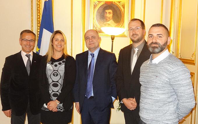 Le SNSPP-PATS-FO rencontre le ministre de l'Intérieur