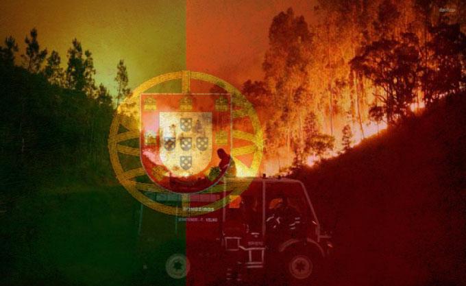 Feux de forêts au Portugal : message de soutien du SNSPP-PATS-FO