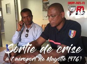 Sortie de crise à l'aéroport de Mayotte (976)