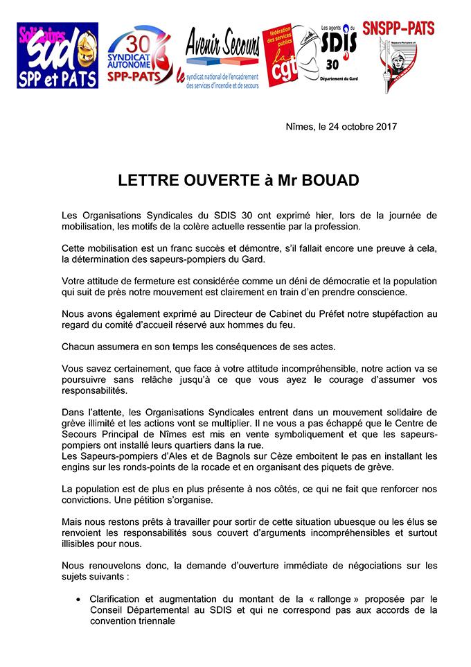 Mouvement de grève dans le Gard