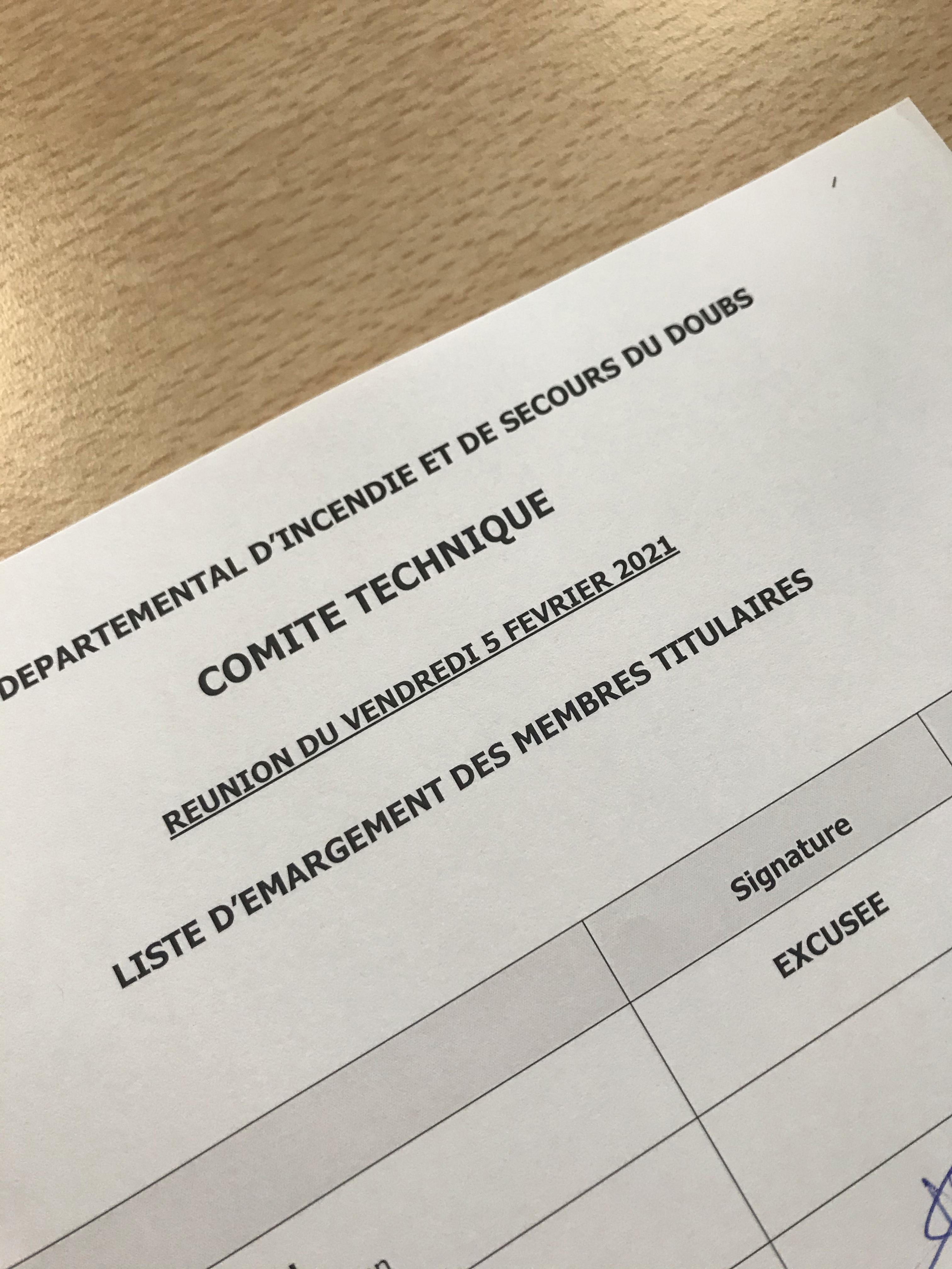 CT du 5 février 2021 - Doubs